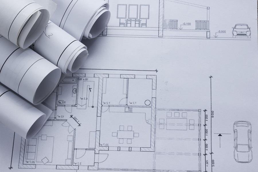 Our approach the gonneau building group architect worplace top view architectural project blueprints blueprint rolls on plans construction malvernweather Choice Image